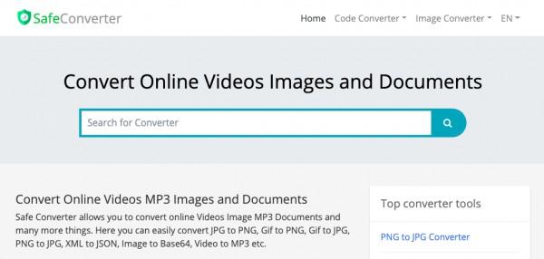 Convert png to jpg online - Safe Image Converter